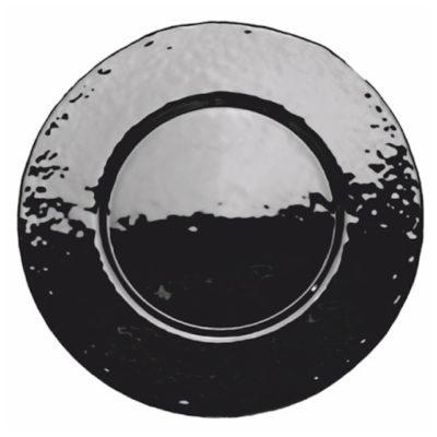 Glasteller Black | rund Ø 33 cm