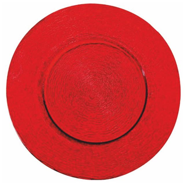 Glasteller Red | rund Ø 33 cm