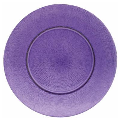 Glasteller Purple | rund Ø 33 cm