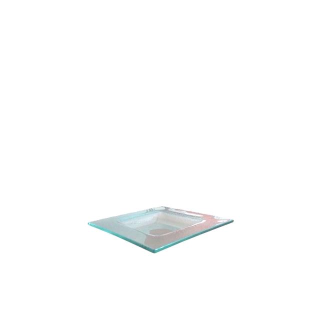 Glasteller Majestic | 16 x 16 cm