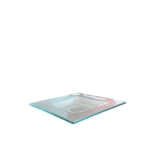 Glasteller Majestic | 27 x 27 cm