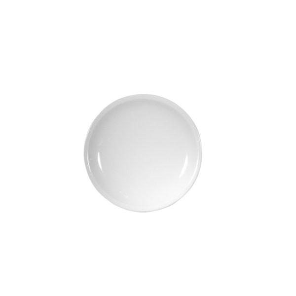 12100-eventtool24-Porzellan-Serie CLASSIC-Brotteller Classic flach |  Ø 12 cm