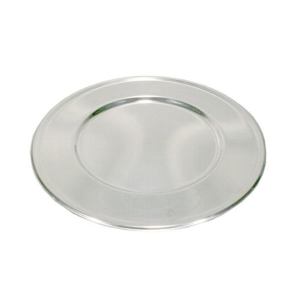 12110-eventtool24-Diverse Glaswaren-Platzteller Royal Edelstahl | rund Ø 31 cm