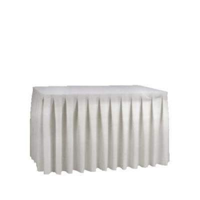 Skirting weiß | 72 x 450 cm