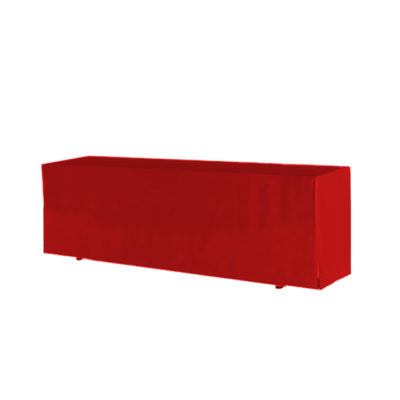 Tischhusse Classic  rot | 50 x 220 cm