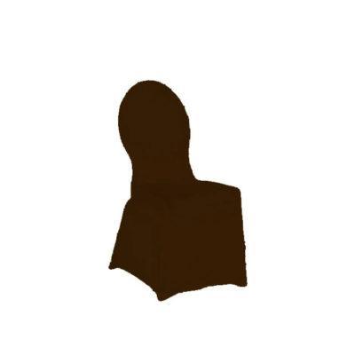 Stuhlhusse Creative schokoladenbraun