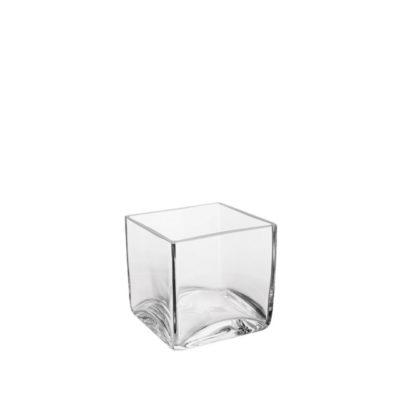 Windlicht Würfel Glas | 10 x 10 cm