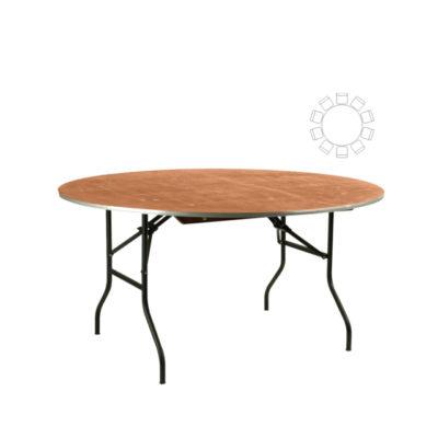 Banketttisch rund 180 cm