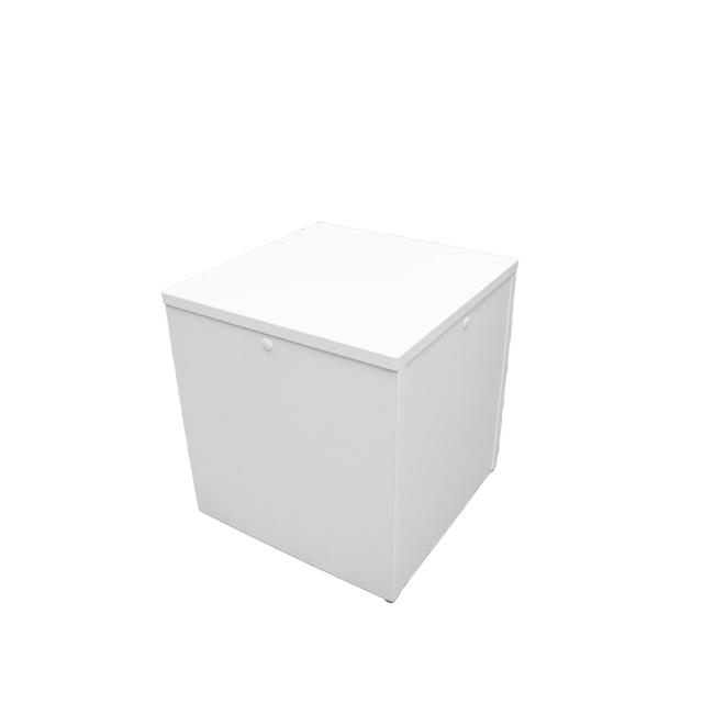 Loungetisch Cubix weiß