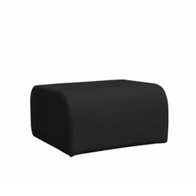 Loungesystem Wave Hocker schwarz