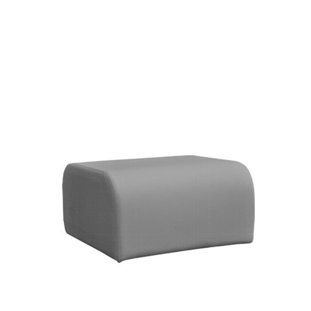 Loungesystem Wave Hocker grau