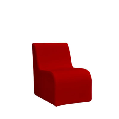 Loungesystem Wave Sessel 50 cm rot