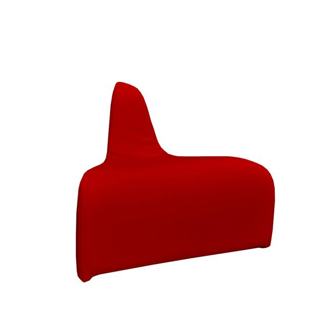 Loungesystem Wave Ecke aussen rot
