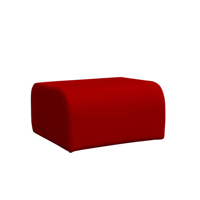 Loungesystem Wave Hocker rot