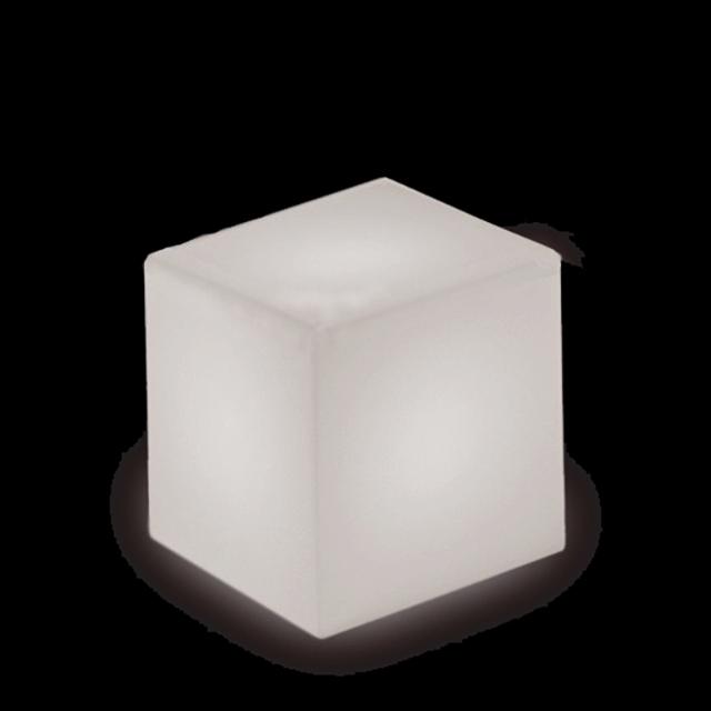 SLIDE | Leucht-Sitzwürfel Cube 40 cm