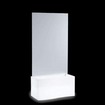 SLIDE | Leuchtvase | Raumteiler Privee Slide 160 cm