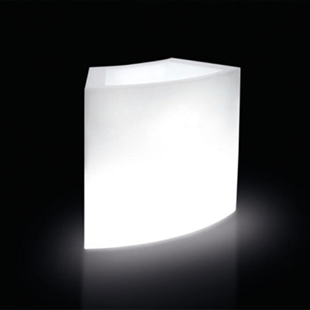 32586-eventtool24-Lounge SLIDE-SLIDE | Leuchtbar Eis  | Pflanztopf Ice-Bar Slide 94 cm