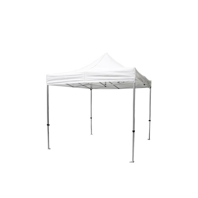 Faltpavillon Premium weiß | 2 x 2 m