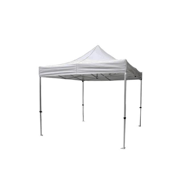 Faltpavillon Easy hellgrau | 3 x 3 m