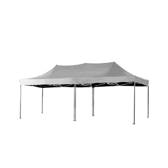 Faltpavillon Easy hellgrau | 3 x 6 m