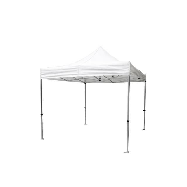 Faltpavillon Premium weiß | 3 x 3 m
