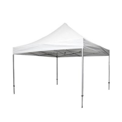 Faltpavillon Premium weiß | 4 x 4 m