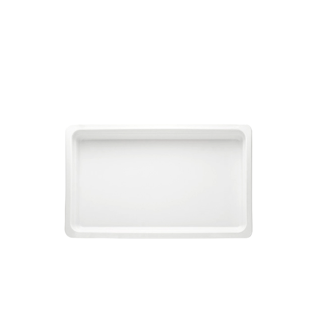 GN Einsatz 1/1 Porzellan   6,5 cm tief
