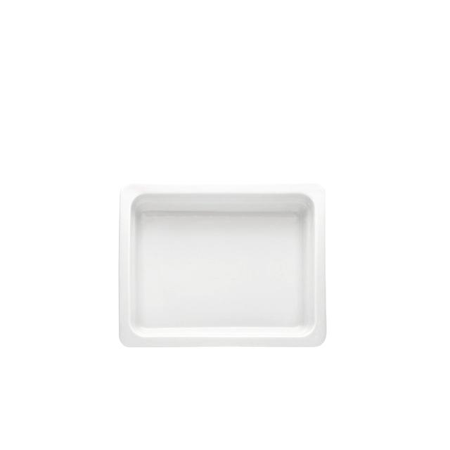 61491-eventtool24-GN-Einsätze-GN Einsatz 1/2 Porzellan | 6,5 cm tief