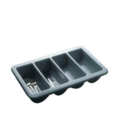Besteckkasten 4-fach Kunststoff