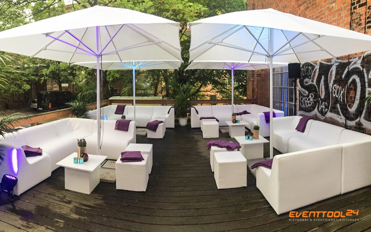 loungem bel sind der trend f r outdoor sommerpartys eventtool24. Black Bedroom Furniture Sets. Home Design Ideas