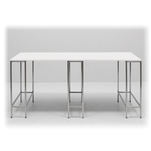 A1392-eventtool24- Barhocker & Stehtische-EVENTWIDE | Stehtisch White 250 cm x 100 cm
