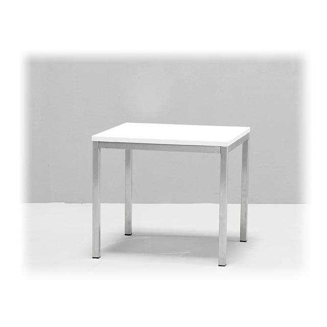 EVENTWIDE | Couchtisch White 50 cm x 50 cm
