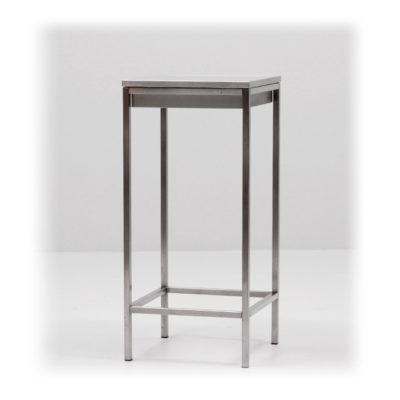 EVENTWIDE | Stehtisch Glas & Wanne 50 cm x 50 cm