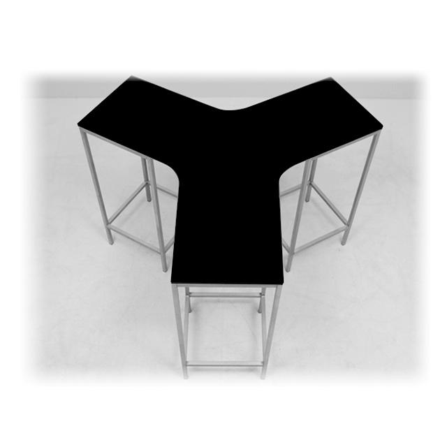 EVENTWIDE | Stehtisch Fluctus 360 schwarz