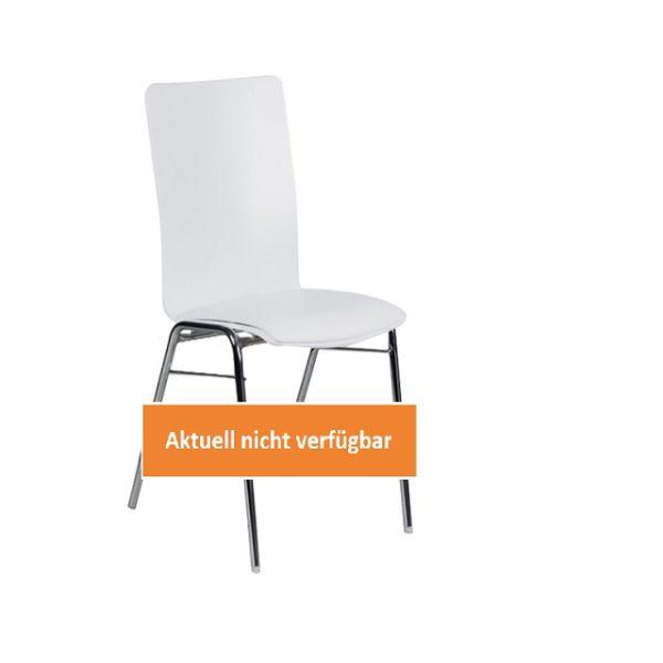 32132-eventtool24-Seminar- & Bankettstühle-Designstuhl Edel weiß