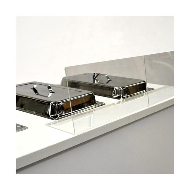 Spuckschutz Acrylglas 48 cm breit