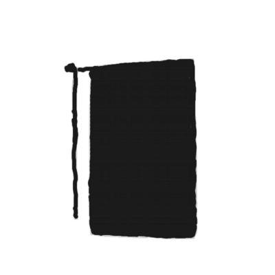 Vorbinder schwarz 100 x 100 cm