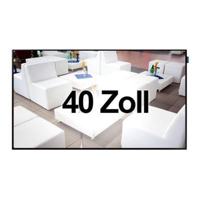 Bildschirm 40 Zoll HD