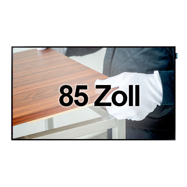 51014-eventtool24–Bildschirm 85 Zoll HD