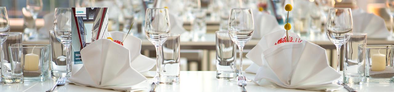 Hochwertige Produkte aus Glas mieten