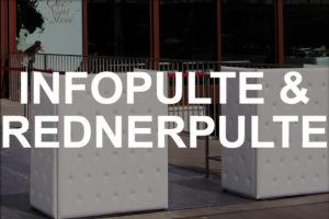 EVENTWIDE Infopulte & Rednerpulte