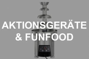 Aktionsgeräte & Funfood-Ausstattung mieten