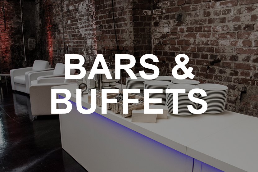Bars Buffets leihen