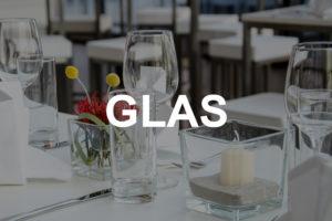 Glas & Gläser mieten
