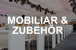 Mobiliar & Zubehör mieten