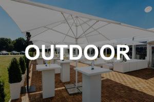 Outdoor Mobiliar & Zubehör mieten