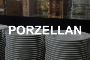 Geschirr aus Porzellan mieten