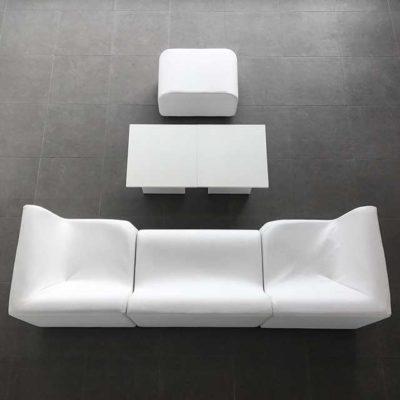 Lounge-Paket WAVE 2 weiß