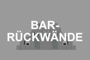Praktische Bar-Rückwände mieten