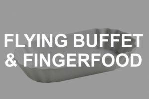 Porzellan für Flying-Buffet & Fingerfood mieten
